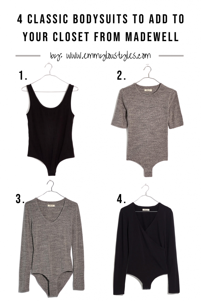 Bodysuits from Madewell for all styles