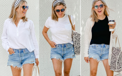 3 ways to wear cutoff jean shorts