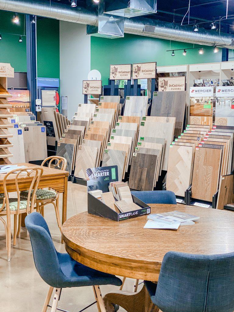 Wood floor showrooms in Saint Louis Missouri