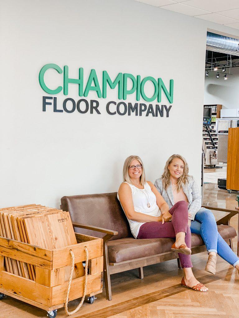 Kim and Kristen of Champion Floor Company