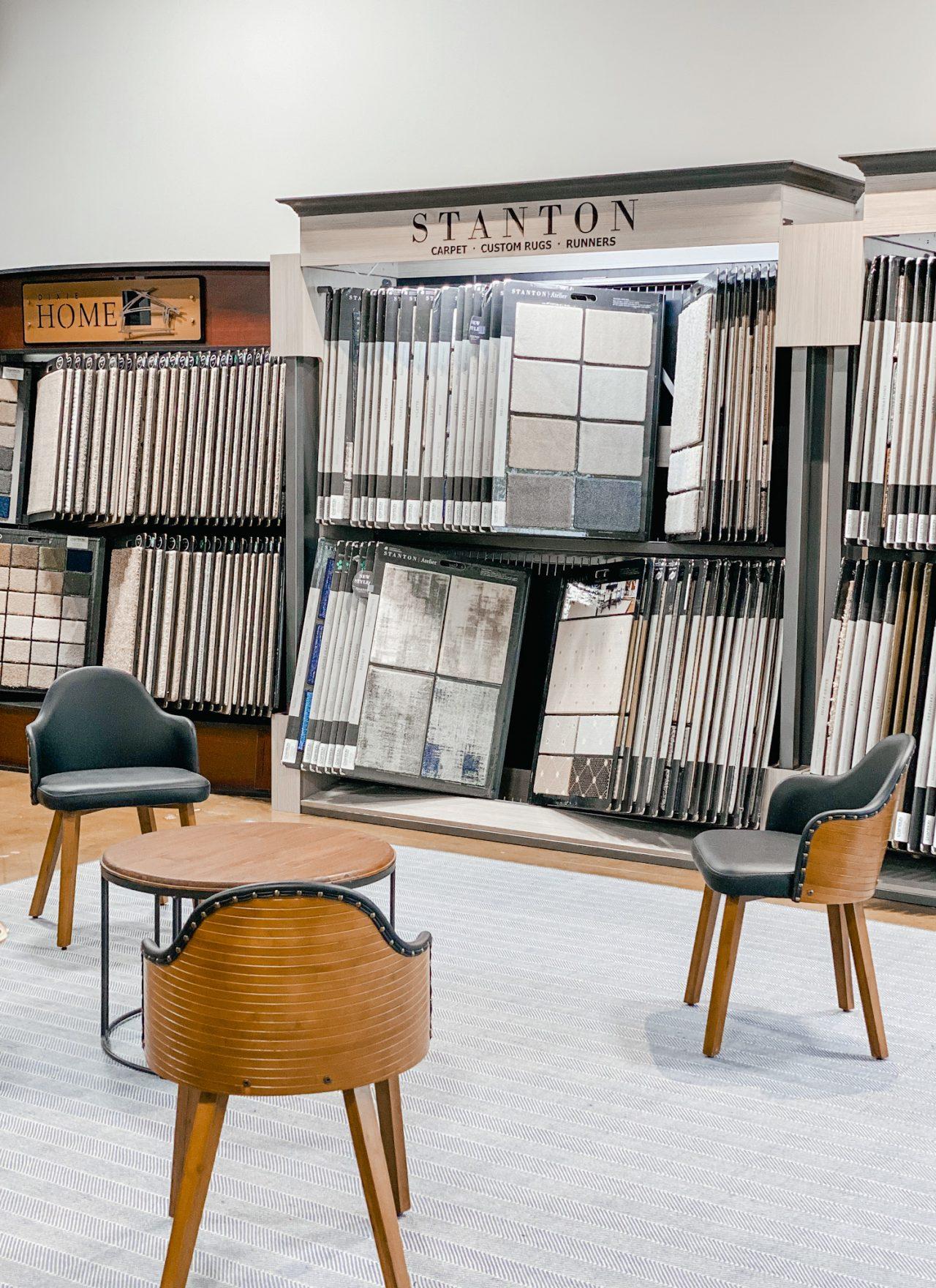 Champion Floor Company carpet showroom
