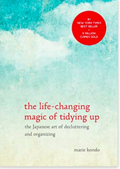 Summer Reading - Marie Kondo The Magic Art of Tidying Up