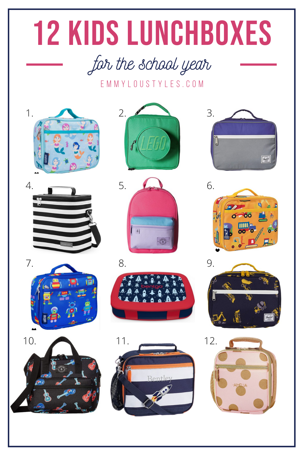 kids lunchboxes for the school year