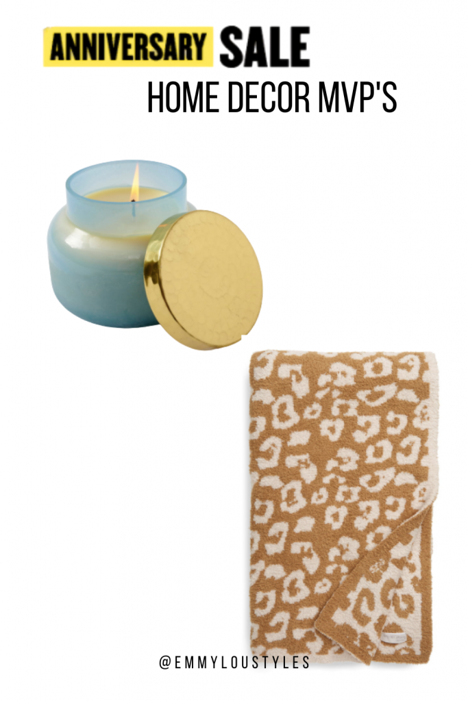 Nordstrom Anniversary sale candles and throws