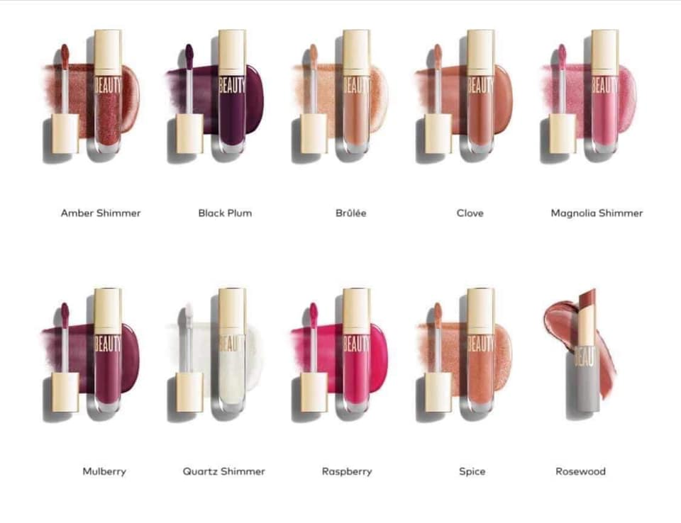 Beauty Counter Beyond the Gloss pink lip colors
