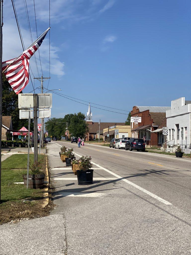 The shops in Rosebud, Missouri