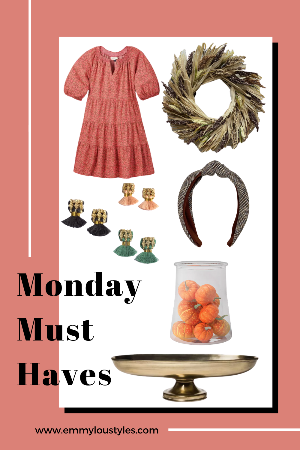 a round up of fashion and home finds I'm loving this week