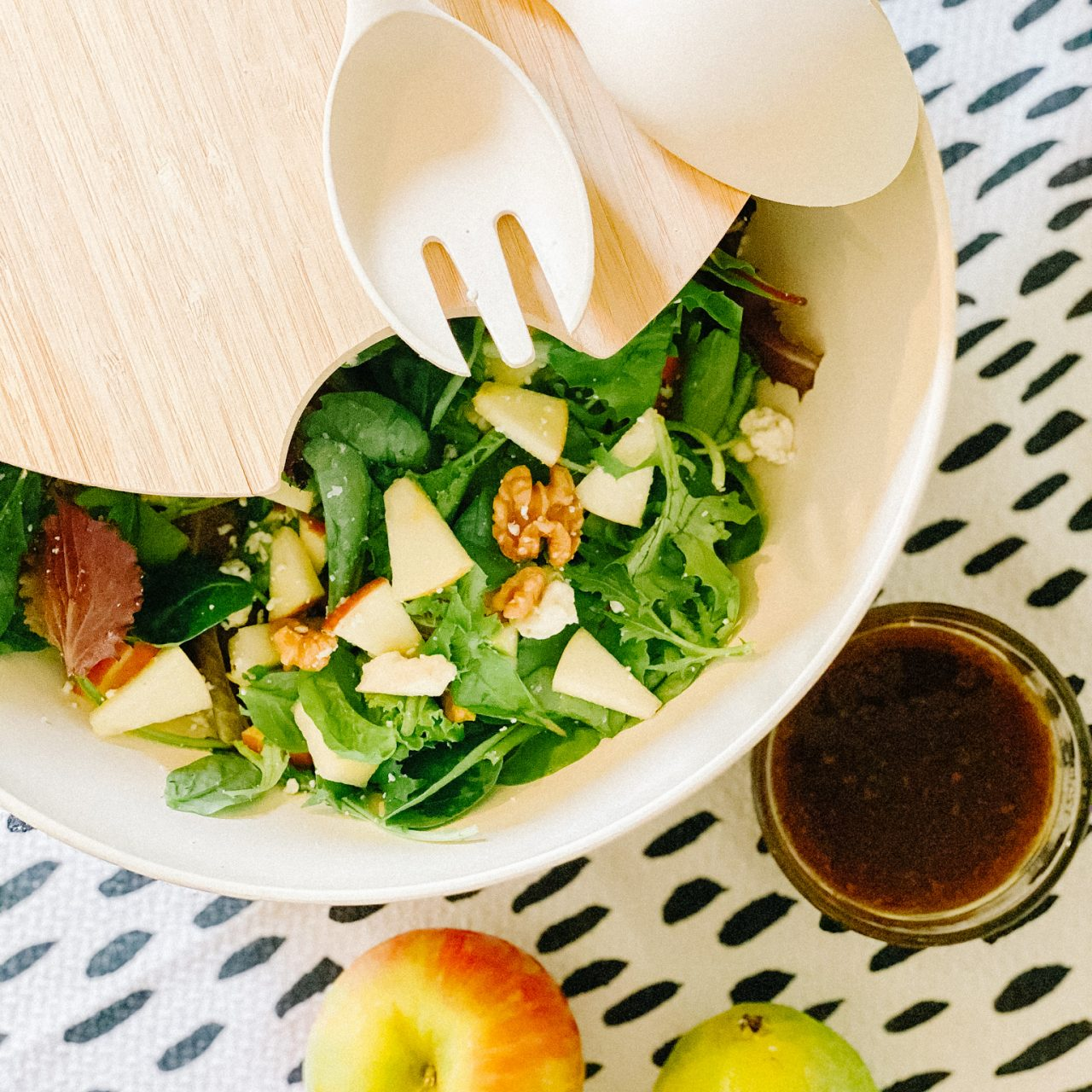 Easy Fall Salad with Pears and Apples