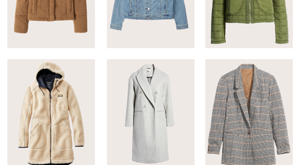 10 Cute and Casual Jackets for Fall