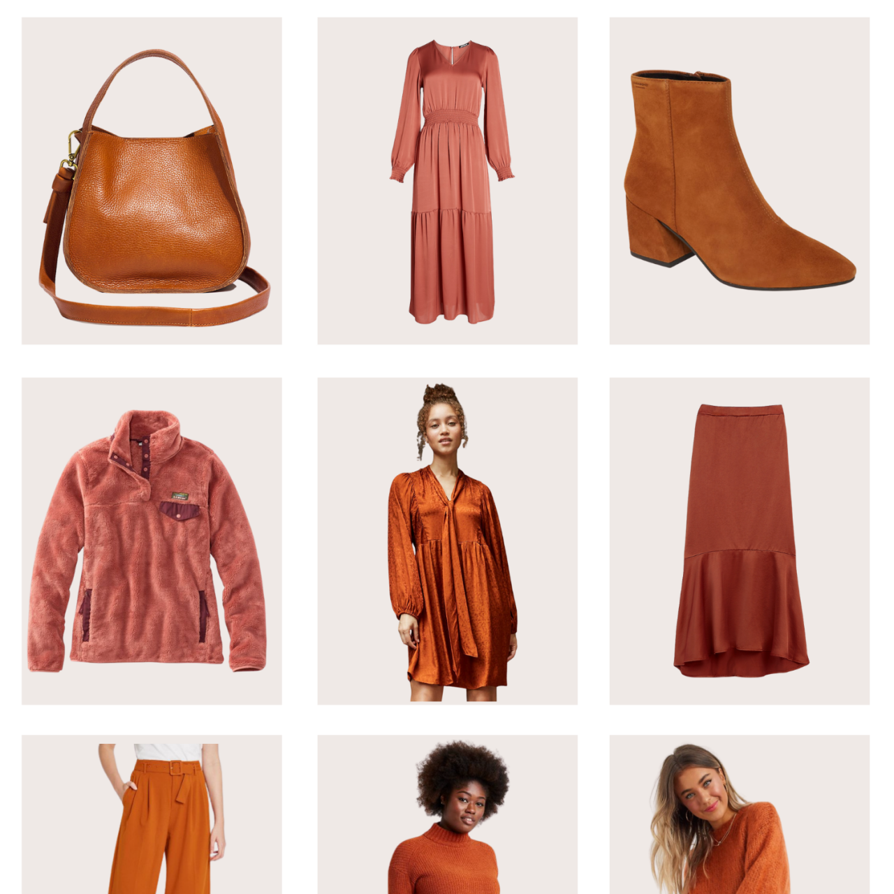 9 Rust Colored Finds for Fall and Winter