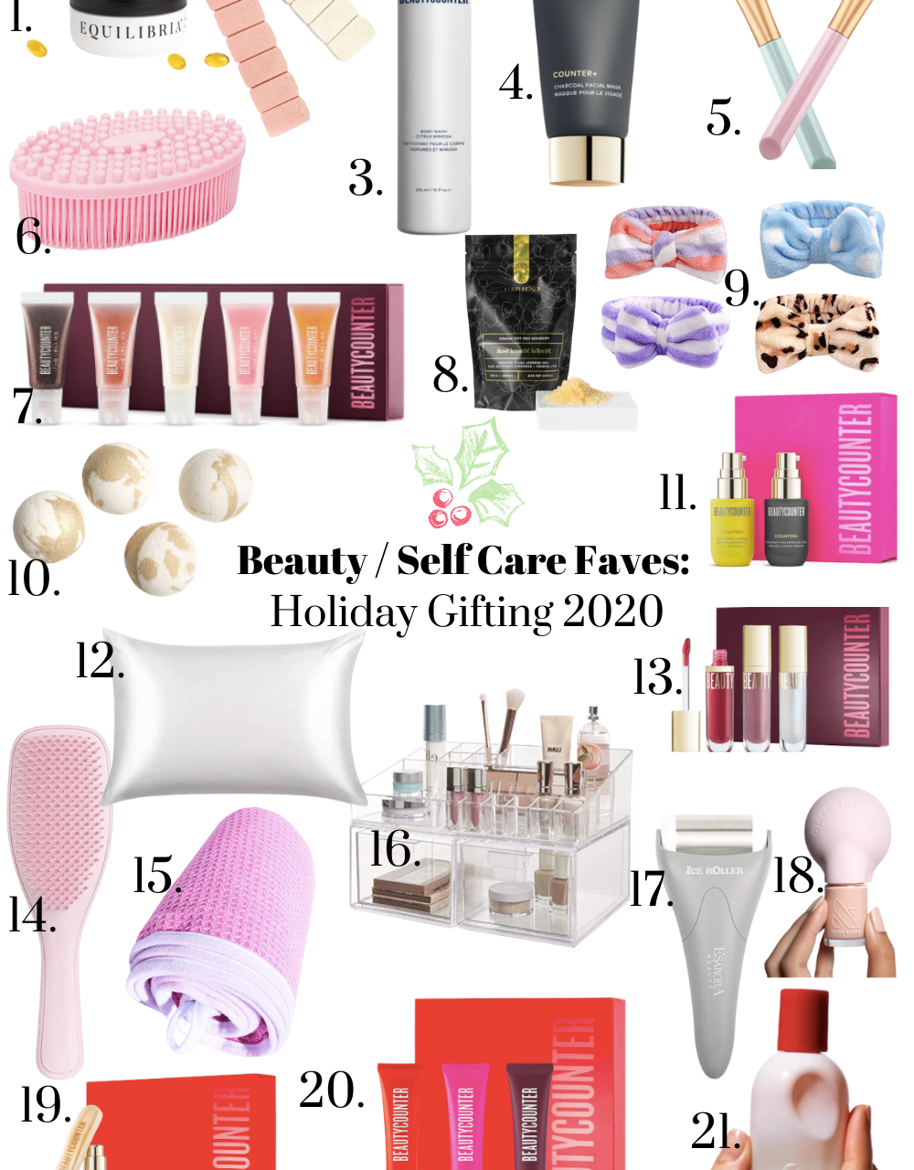 Beauty + Self Care Favorites: Holiday 2020 Gift Guide