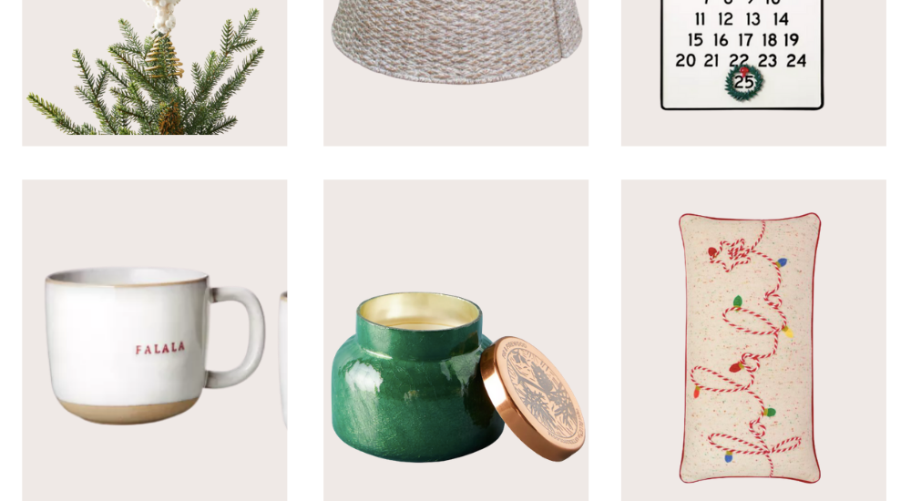 Holiday Home Decor Finds I'm Loving
