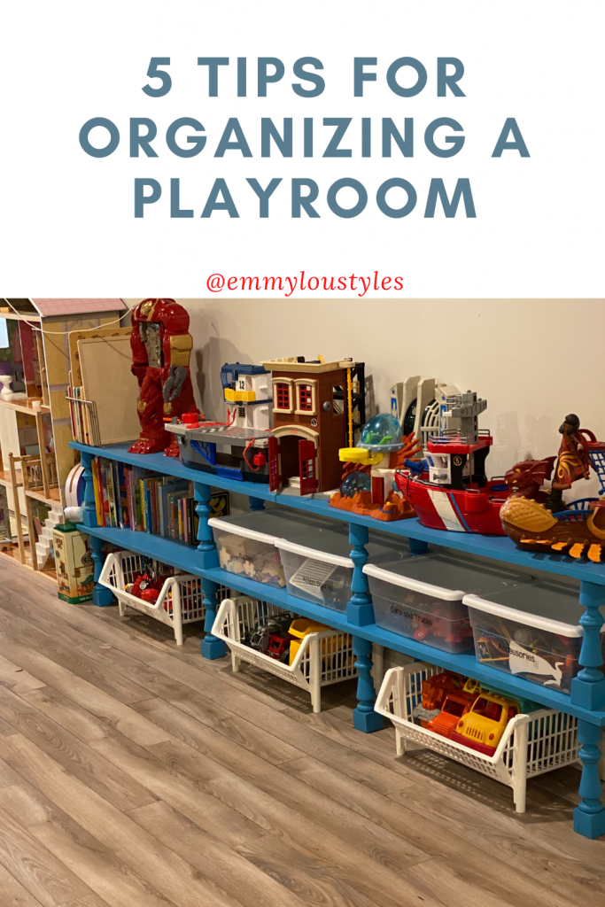 How to Organize a kids playroom