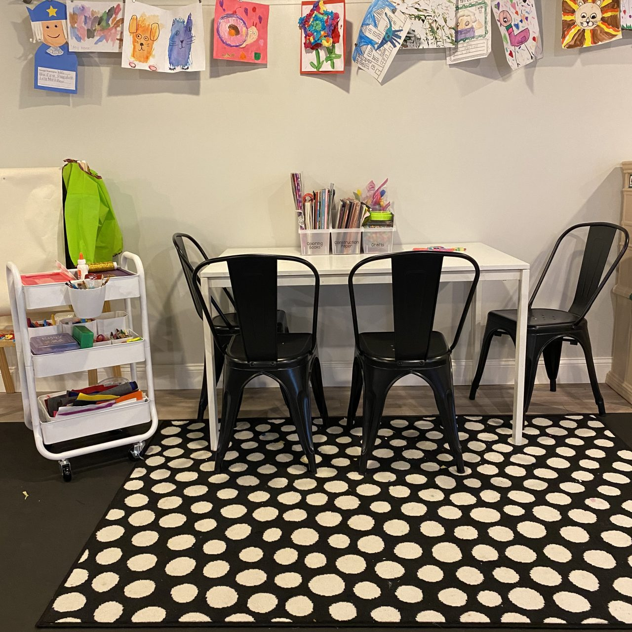 Our Organized Kids Playroom with Organized Interiors