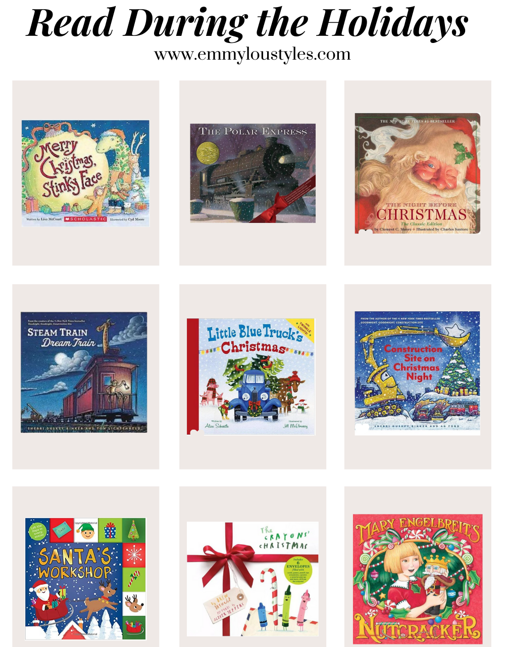 Our Favorite Kids Books to Read During the Holidays