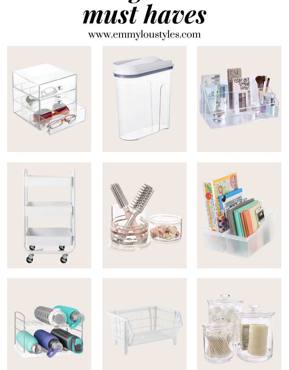 Home Organization Must Haves