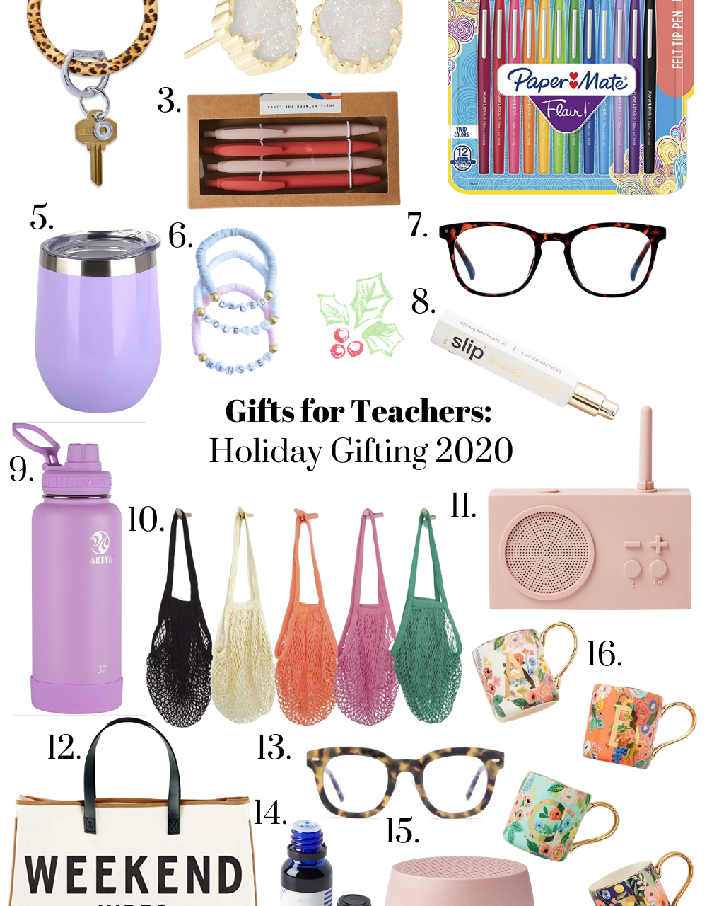 Gifts for Teachers: Holiday 2020 Gift Guide