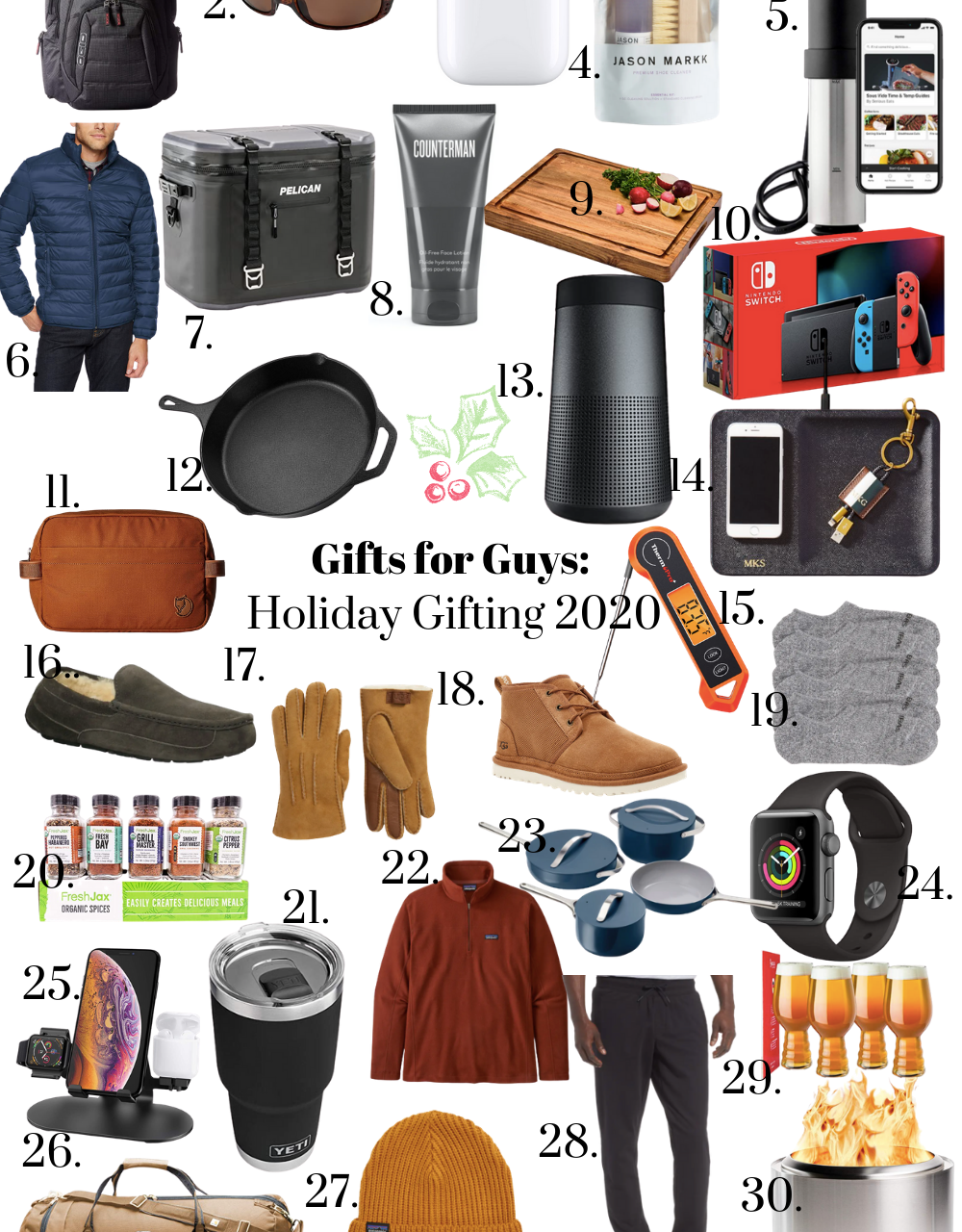 Gifts for the Guys: Holiday 2020 Gift Guide