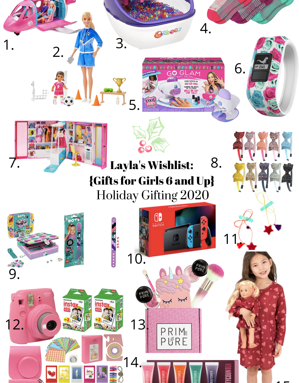 Layla's Wishlist: Christmas Gifts for Girls 6 & Up