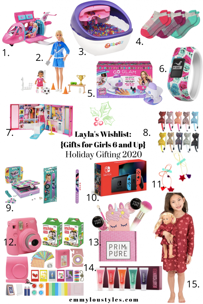 gift ideas for girls ages 6 and up