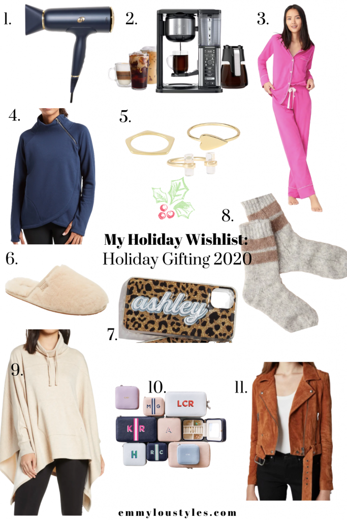 a round up of style, beauty and home finds on my holiday wishlist