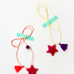 Bright handmade necklaces for girls and teens