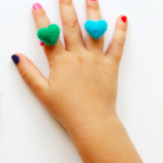 Handmade colorful rings for girls and teens