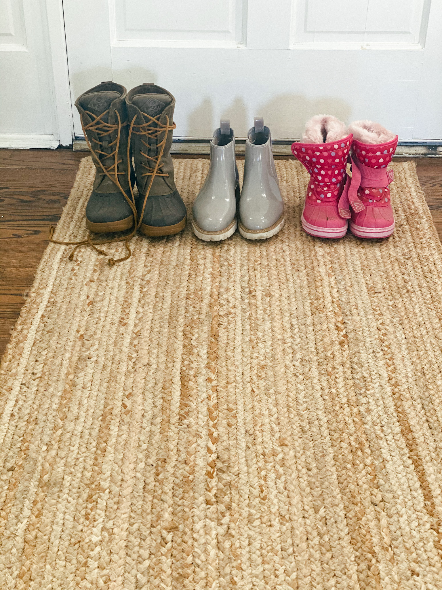 How to keep floors clean in the wintertime