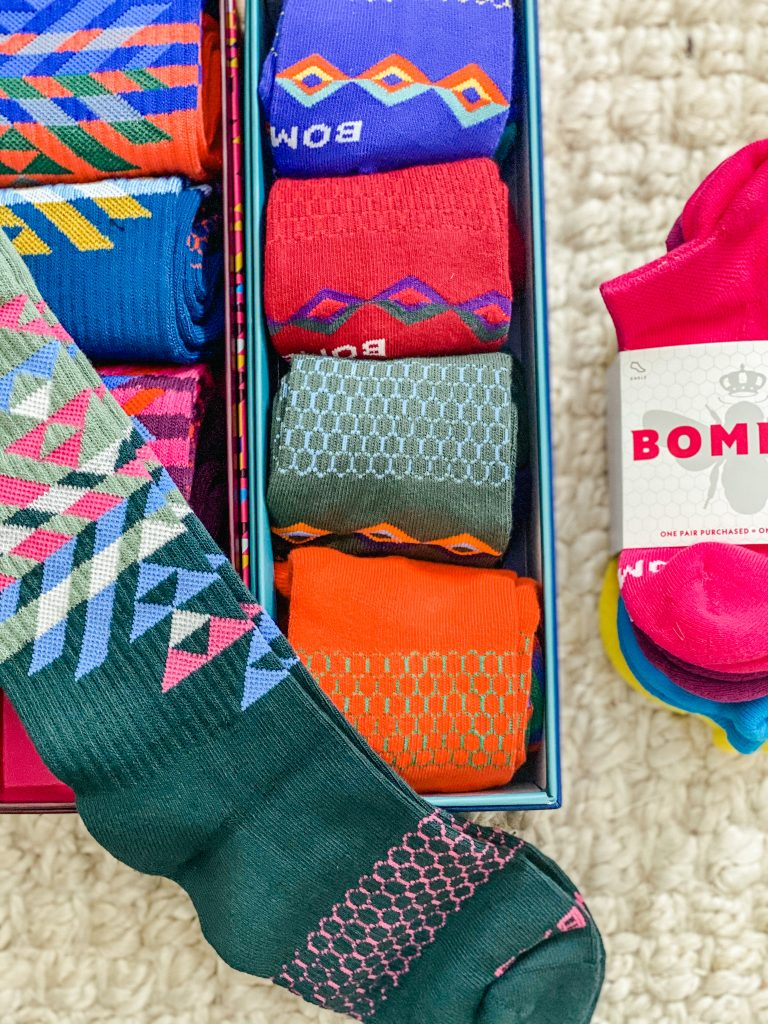 Colorful socks for the whole family from Bombas