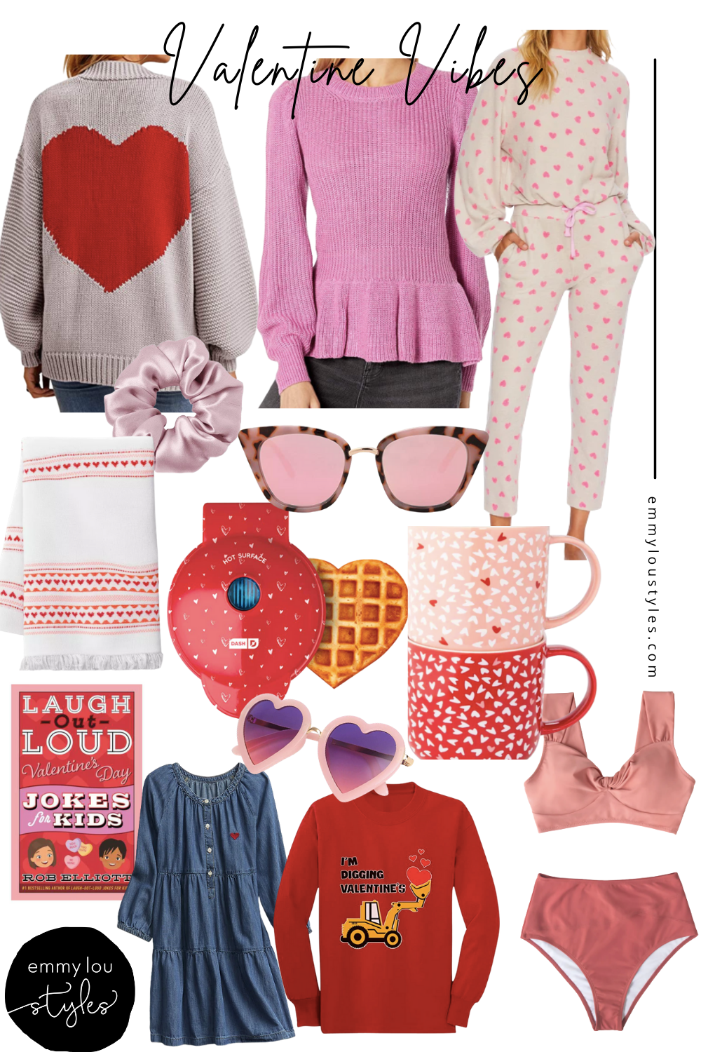 Valentine's Day pink and red finds